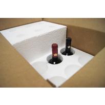 muestra de Caja  12 botellas de vino o cava