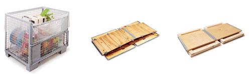Cajas de madera aluminio y pl stico cajas de mad for Cajas de plastico plegables