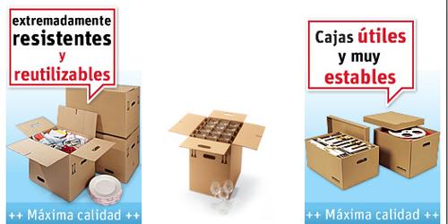 Caja de mudanza caja de cart n ondulado con tapa for Cajas para mudanzas