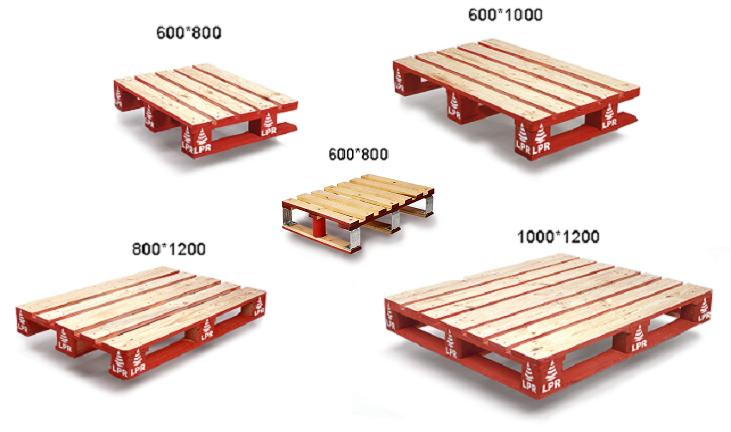 Tipos y caracter sticas de palets abc pack - Cuanto cuesta un palet de madera ...