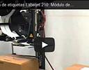 Aplicadora de etiquetas Labeljet 210: Módulo de apisonado