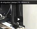 Aplicadora de etiquetas Labeljet 210: Módulo táctil