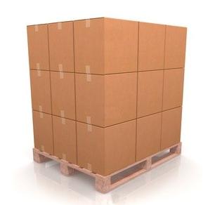 Cajas de cartón ondulado paletizables