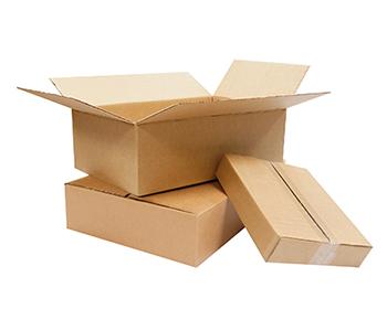 Cajas planas de cartón
