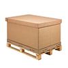 Contenedor de carton ondulado plegable-1