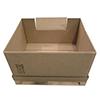 Contenedor de carton plegable con ventana-1