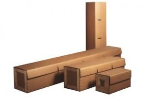 TECNI WRAP Embalaje mixto de cartón ondulado y madera