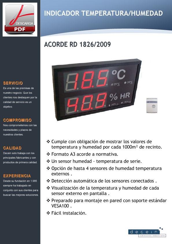 Decein-Indicador-temperatura
