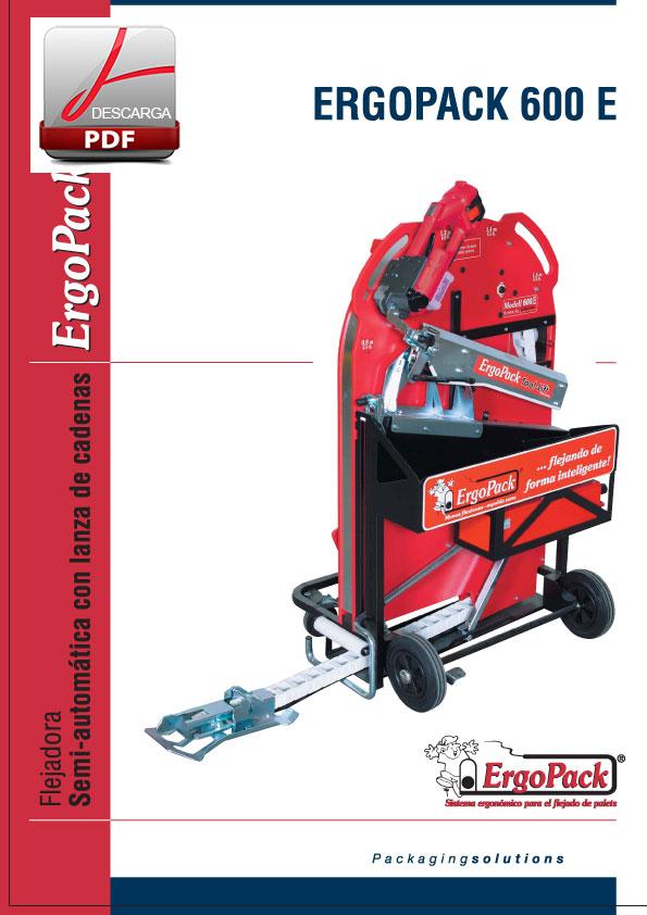 Flejadora-semi-automatica-lanza-cadenas-ERGOPACK-600E