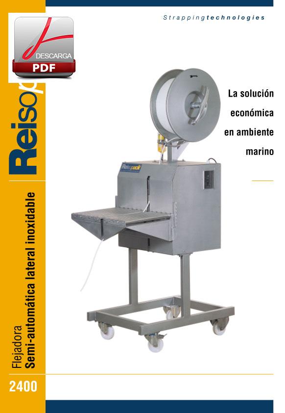 Flejadora-semi-automatica-lateral-inox-2400