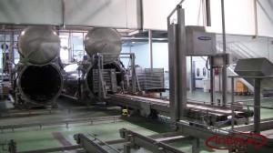 Circuito para cestos y carga de autoclaves