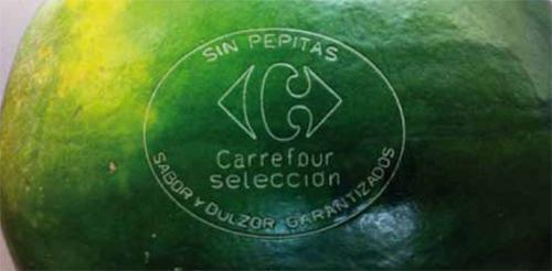 Codificacion unitaria de cada fruta y hortaliza