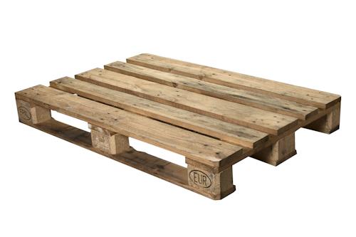 Palet de madera eur homologado abc pack - Palet de madera decoracion ...