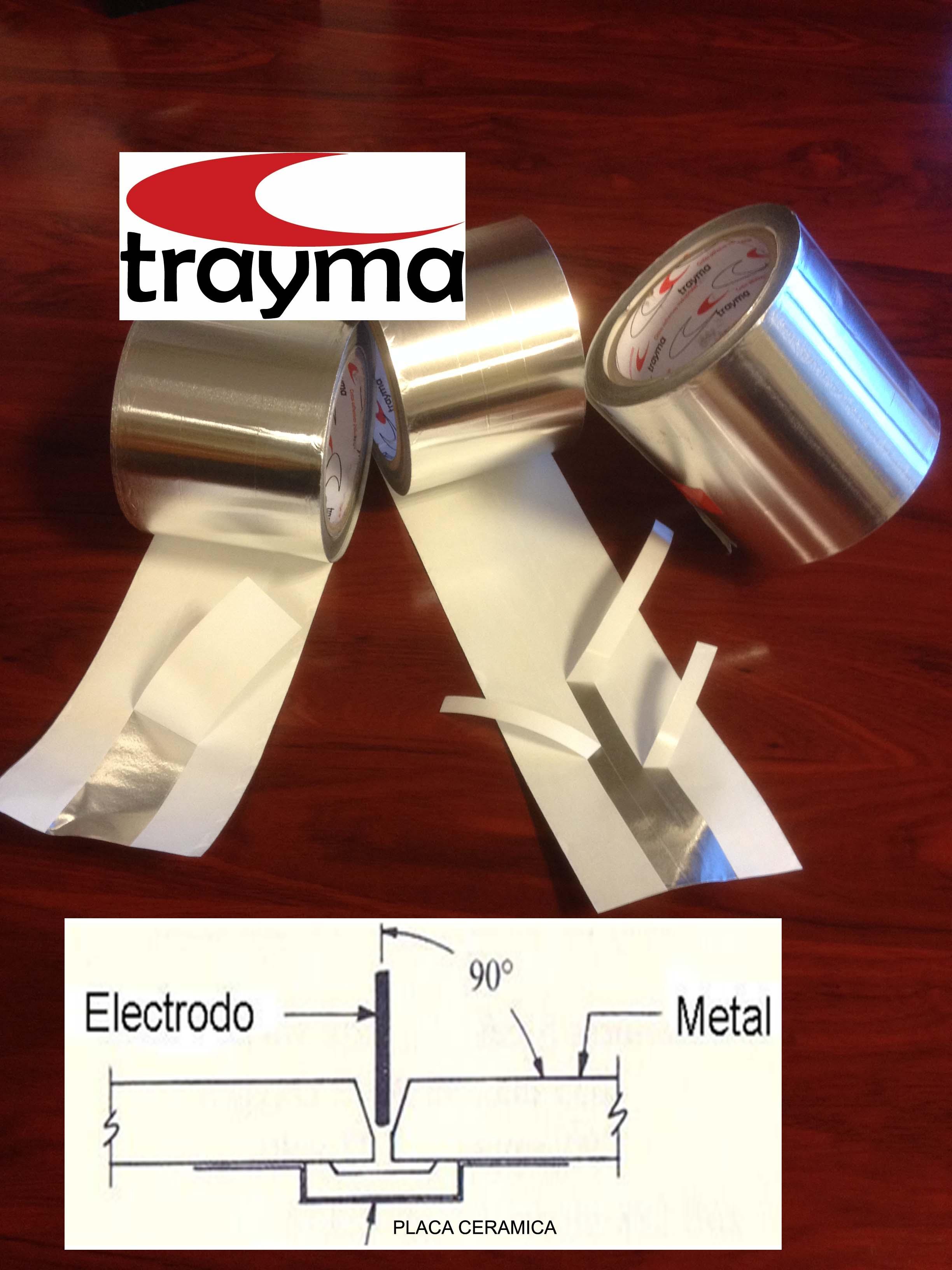 cinta adhesiva de aluminio una cara TYM1820P