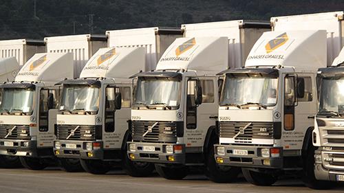 Flota de reparto de Envases Grau S.L.