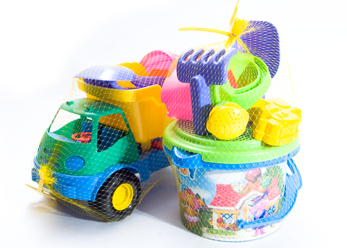 malla para juguetes