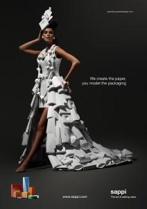 Sappi dress ad