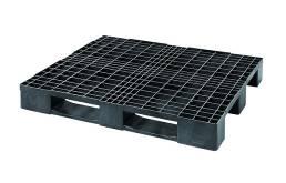 Con el Eco i5, Cabka-IPS aumenta su gama con un palet ligero en medida americana para el almacenamiento en estantería alta.