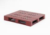 El palet para grandes cargas Endur i9 se moldea mediante inyección asistida por gas, lo que hace que el palet sea flexible y resistente al mismo tiempo.