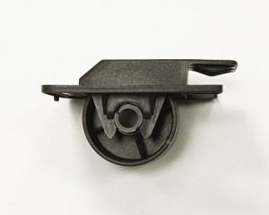 rueda de plastico