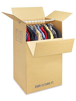 cajas carton armario