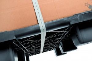 Los cantos redondeados del Nest S5 facilitan el apilado y aumentan la seguridad en el trabajo