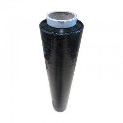 Film Estirable Manual - 23µ, 2Kgs Negro (K555...Caja de 6 Bobinas de Film estirable transparente Con Mandril para paletizar de forma manual. 23 micras - 2Kg + Mandril (300gr) 180x0,5 metros (aprox) Pedido Mínimo: 1 Caja con 6 Bobinas