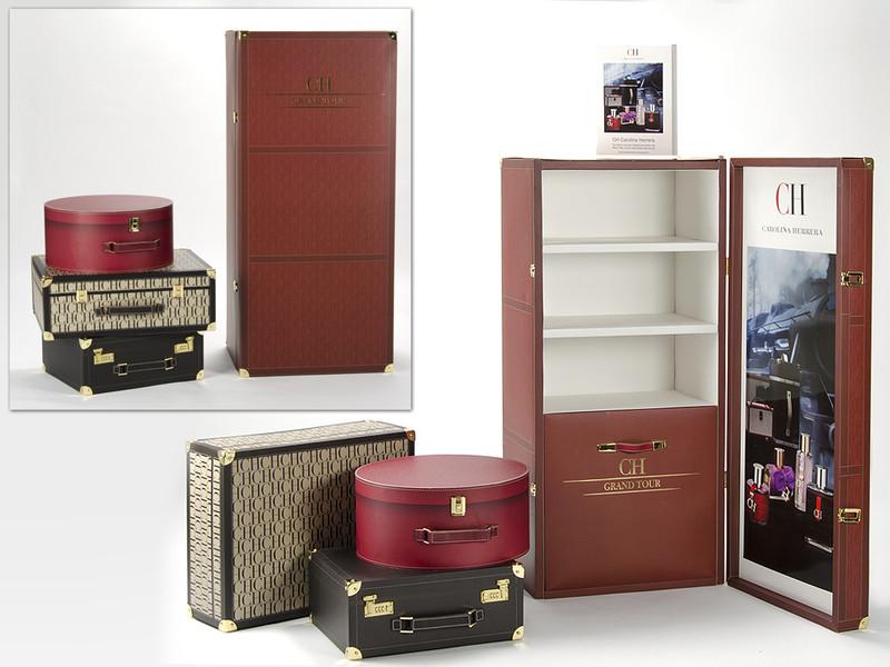 Carolina Herrera Grand Tour, packaging con concepto y rentabilidad
