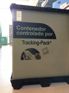 Contenedor tracking pack