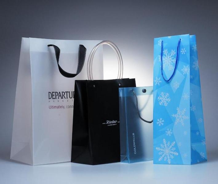 PP shopping Bags con material ecológico