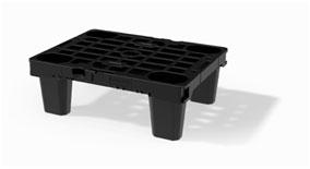 : Pequeño pero resistente: el Nest M1 con un tamaño de media medida modular es idóneo para el posicionamiento de expositores en el punto de venta.