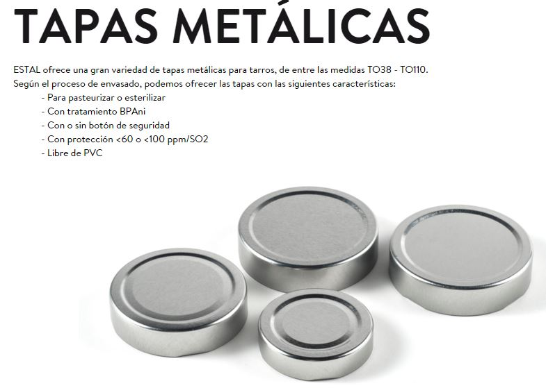 TAPAS METALICAS