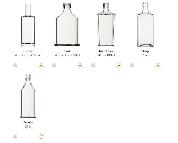 botellas squares