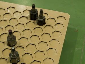 Hexapanel plancha nido de abeja Acondicionamiento3