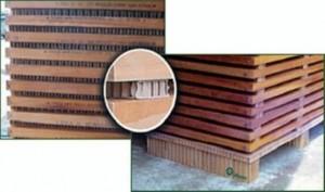 Hexapanel Panel de nido de abeja Separación