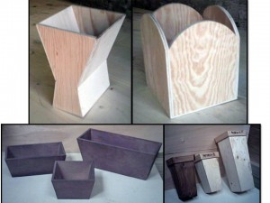 Tiestos de madera abc pack - Tiestos de madera ...