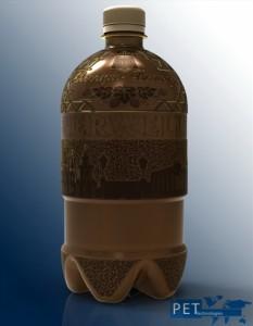 botella de PET para cerveza artesana