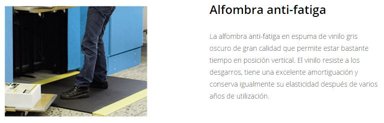 Seguridad X-SECURE Marcaje de seguridad alfombra anti-fatiga