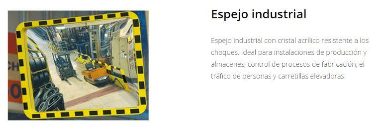 Seguridad Espejos vigilancia industrial
