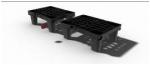 Gracias a su innovador sistema de ajuste —cuya patente se está tramitando— el Nest M1 se puede encajar en unidades más grandes.