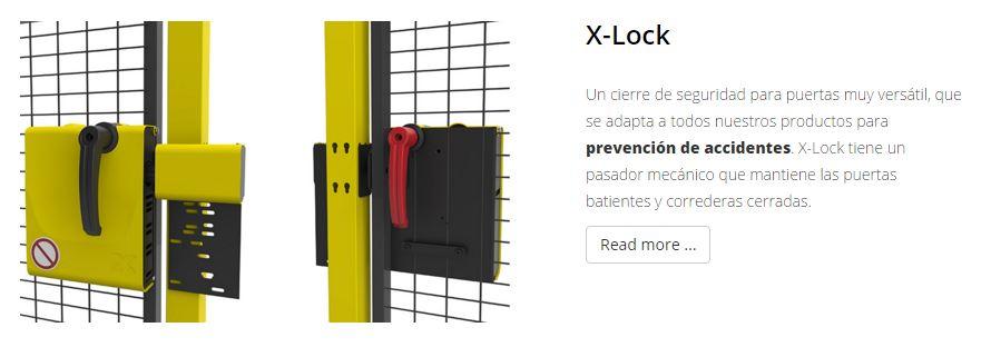 Protección de maquimaria X-GUARD Cerraduras x-lock