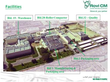 Planta de Fabricación Frosst Ibérica de ROVI