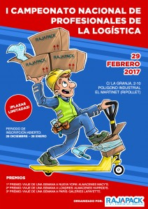 Cartel logistica campeonato pequeno