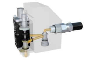 aplicador de adhesivo termofusible invisipac