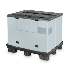 CabCube 2.0 es un contenedor plegable para piezas voluminosas y ligeras como las que se suelen transportar en el sector de la distribución.