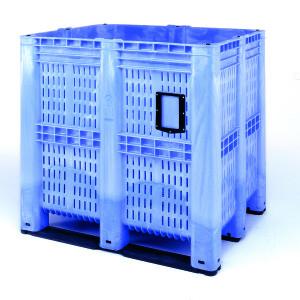 Un punto destacado del stand de la feria es el contenedor de grandes dimensiones, eficacia demostrada y aplicación universal.