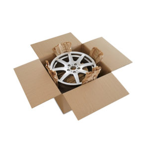 Caja de cartón para llantas