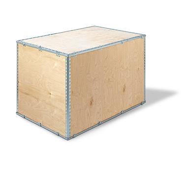 Cajas de madera con cierre