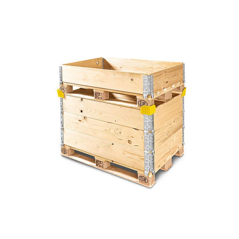 Anillos de madera con 4 esquinas para europalet