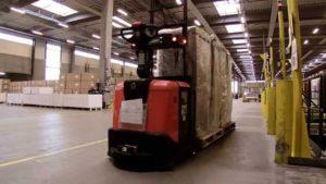AGV El transporte eficiente de palets